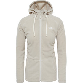 The North Face W's Mezzaluna Full Zip Hoodie Vintage White Stripe